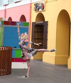 Sarah Atereth Arabesque in Singapore! #dance #sarahatereth #music #www.thesarah.com