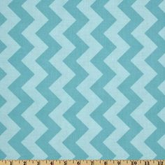 Riley Blake Chevron Medium Tonal Aqua from @fabricdotcom  Designed by RBD Designers for Riley Blake Designs, this cotton print fabric is perfect for crafts, quilting, apparel and home décor accents. The chevron stripe is vertical to the selvedge.