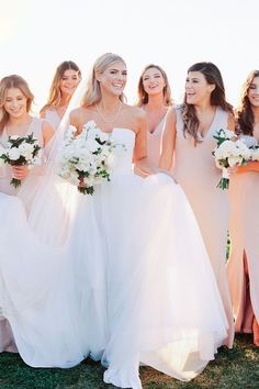 """From the editorial, """"A Modern Black And White Loft Wedding Brimming With Romance"""". Everything about this wedding day is sleek, sophisticated, and refined. 