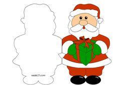 Altro materiale correlatoBiglietti di Natale con Babbo Natale 1Biglietti Natale da colorare – Babbo NataleBiglietti di Natale in inglese – Babbo NataleBiglietti di Natale – Babbo NataleBiglietti Natale da colorare – Angelo cuoreBiglietto con Babbo Natale da colorareBiglietto di Natale con candela da colorareBiglietto di Natale con candelaBiglietti da stampare – Babbo NataleBabbo Natale 3DBabbo … Santa Pictures, Christmas Pictures, Christmas Stencils, Christmas Crafts, Music Border, Christmas Cards Drawing, Diy And Crafts, Crafts For Kids, Paper Fans