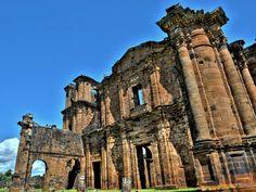 RS – Ruínas de São Miguel das Missões (Patrimônio Histórico e Cultural da…