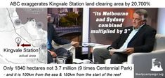ABC Insiders lies about QLD land clearing by a crazy amount - Liberty Campaign Pauline Hanson, Centennial Park, Landing, Liberty, Campaign, Freedom, Political Freedom