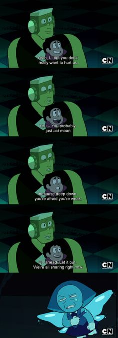 Steven tries to pull a steven