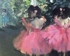 Choose your favorite edgar degas paintings from millions of available designs. All edgar degas paintings ship within 48 hours and include a money-back guarantee. Edgar Degas, Ballet Painting, Pink Painting, Ballerine Vintage, Degas Dancers, Degas Paintings, Painting Gallery, Pastel Drawing, Drawing Art