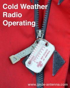 Cold Weather Amateur Radio Operating