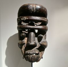 A classic 19th Century Bete mask with much patina of use. 35 cm  Provenance: Rolf de Maré. He started and was the leader of the Swedish  Ballet in Paris, 1920-1930. He grounded 1933, in Paris, the worlds first  dance museum. Maré was also a collector of modern art, He donated a lot of  his fantastic collection to Moderna Museet in Stockholm. He travelled  around the world and collected dance related items. Later in his live he  grounded a dance museum in Stockholm.  Price on request