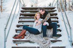Rib Mountain Winter Engagement | Matt & Emily » Beyond Imagination Photography