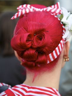 Simple back updo
