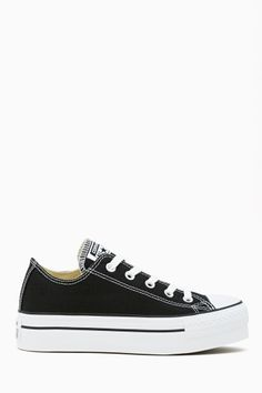 Converse All Star Platform Sneaker - Black