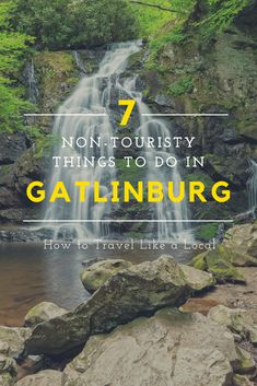 Tired of laser tag, mini golf, and souvenir shops? Check out these non-touristy things to do in Gatlinburg, TN instead. Gatlinburg Vacation, Gatlinburg Tennessee, Tennessee Vacation, Vacation Trips, Vacation Spots, Alaska Travel, Travel Usa, Alaska Cruise, State Parks