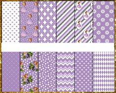 Awesome Sofia the First Digital Papers Sofia The First, Digital Papers, Etsy Store, Vibrant Colors, Card Stock, Banner, Awesome, Banner Stands, Banners