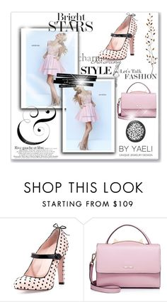 """""""Blush Sherri Hill 50054 Homecoming Dress A Line Satin"""" by chrissybarby ❤ liked on Polyvore featuring RED Valentino, WithChic and Pier 1 Imports"""