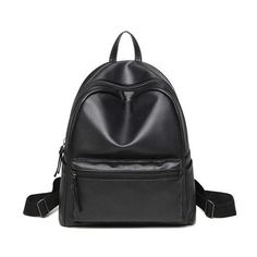 2017 Korean Style Designer Women Leather Backpack Black Bookbag Mochila Mujer De Couro Feminina Back Pack Female PU Leather Bags Backpack Travel Bag, Fashion Backpack, Mini Backpack, Laptop Backpack, Mini Bag, Travel Bags, Black Bookbag, Black School Bags, Black Backpack School