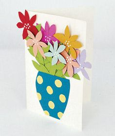 Easy greeting cards, for kids (not inclined to drawing) to make
