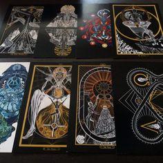 Ina Auderieth - Tarot and symbolic Art from Austria. Tarot interpretations and Webshop - limited Fine Art Prints, Shirts and Bags Tarot The Fool, The Sun Tarot, The Tower Tarot, Tarot Interpretation, Symbolic Art, Esoteric Art, Occult Art, Gothic Art, Fantastic Art