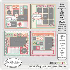 Pieces Of My Heart-6 by Kay Miller Designs