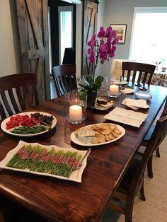 Amish Furniture | Dining Room | Dining Room Inspiration | Barn Doors |  Dining Room Decor