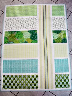 Bijou Lovely | 13Colorblock quilts.