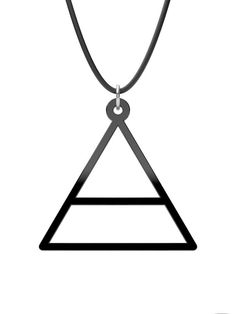 30 Seconds to Mars Triangle Pendant or Key Chain by KarenKatrjyan, $10.00