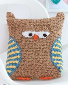 No one can resist hugging the fun characters in Kid's Animal Pillows! Each has a lovable face, and some even have tails, feet, and other 3-D features. These whimsical pillows make great decorative acc