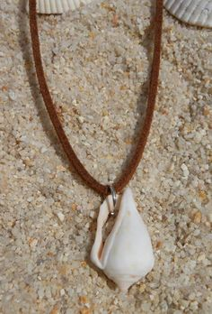 mystery island seashell NECKLACE- conch shell necklace- beach ...