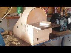 Lixadeira de disco caseira(homemade disc sander) - YouTube