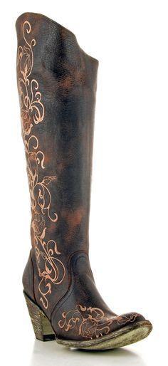 Womens Old Gringo Pomiferra Boots