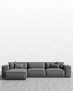 Sit back in contemporary and mid-century modern sofas and sectionals. Living Room Sofa Design, Home Living Room, Living Room Designs, Modern Sectional, Sectional Sofa, Couches, Mid Century Modern Sofa, Mid Century Sofa, Appartement Design