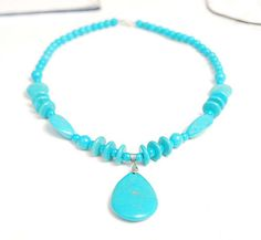 Items similar to crystal necklace kallaite necklace calaite necklace friend gift mother gift wholesale on Etsy Crystal Necklace, Beaded Necklace, Crystal Flower, Mother Gifts, Gifts For Friends, Turquoise Necklace, Crystals, Awesome, Etsy