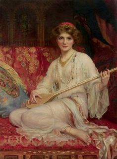 View The dancing girl by William Clarke Wontner on artnet. Browse upcoming and past auction lots by William Clarke Wontner. Classic Paintings, Beautiful Paintings, Art Paintings, Moritz Von Schwind, John William Godward, Lawrence Alma Tadema, Pre Raphaelite Brotherhood, Classical Art, Girl Dancing