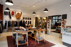 Retail Design | Shop Design | Fashion Store Interior Fashion Shops | Albam Spitalfields, London