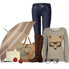 Rainy Day by lovesdelight on Polyvore