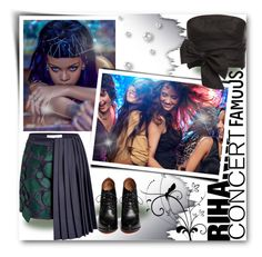 """Hot Ticket: Rihanna Concert"" by matildiwinky ❤ liked on Polyvore featuring Givenchy, Mary Katrantzou and TIBI"