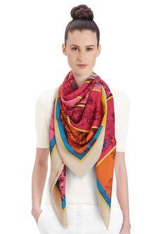 Cashmere Silk Scarf - Mars by VIDA VIDA ZyGpXN4b1p