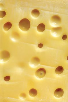 Swiss Cheese Art Print by sumners - X-Small Yellow Photography, Texture Photography, Macro Photography, Food Patterns, Patterns In Nature, Textures Patterns, Cheese Art, Swiss Cheese, Food Texture