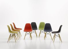 Eames Plastic Side Chairs Charles & Ray Eames, 1950