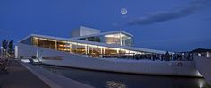 The Oslo Opera House,home of The Norwegian National Opera and Ballet, by Photograph Mark Cabot http://www.cabot.no