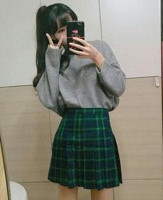 ˗ˏˋ ♡ @ e t h e r e a l _ ˎˊ˗ Ulzzang Fashion, Harajuku Fashion, Kpop Fashion, Cute Fashion, Daily Fashion, Girl Fashion, Fashion Outfits, Fashion Design, Ulzzang Girl