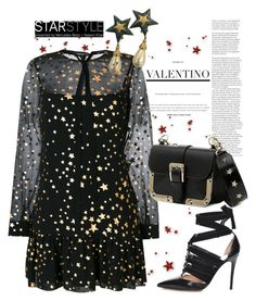 """Valentino Star"" by forgottenmelody ❤ liked on Polyvore featuring RED Valentino, Valentino and StarOutfits"