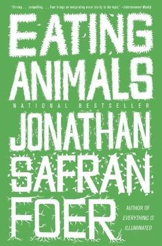 Eating Animals by Jonathan Safran Foer, http://www.amazon.com/dp/B002SSBD6W/ref=cm_sw_r_pi_dp_sTC0sb1RM8429 This book will stop you from eating meat....and raise your consciousness about factory farming and the suffering to animals.