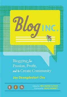 Blog, Inc. - yes, I wrote this book! It's my go-to gift for those interested in blogging or those who want to take their blog to the next level.