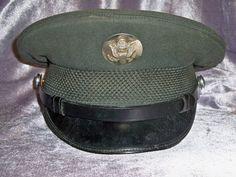 Vintage U.S Army Service Cap Wool Uniform Hat AG-44 Vietnam Era