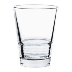 VÄNLIG Glass, clear glass $2.95/6pk