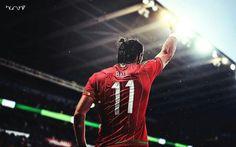 Gareth Bale . Wales