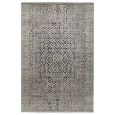 """MANSTRUP Rug, low pile, gray antique look, floral patterned, 6 ' 7""""x9 ' 10"""" - IKEA Ikea Carpet, Carpet Decor, Gray Carpet, Carpet Ideas, Ikea Rug, Ikea Decor, Wet Spot, Medium Rugs, Professional Carpet Cleaning"""