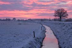 Prachtige #winterse omgeving bij Landgoed de Biestheuvel