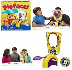 Hot Pie Face Game Family Fun Halloween Xmas Birthday Party Kids Funny Gift