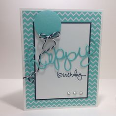 Happy Birthday - Hello You Thinlits Endless Birthday Wishes Stamp Set www.CarolArneson.StampinUp.net