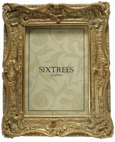 9791f6cd6e4 Shabby Chic Style Very Ornate Gold Photo Frame for 7