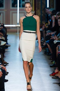 Josephine Le Tutour for Roland Mouret Spring 2013 Ready-to-Wear